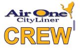 AIR ONE CITYLINER Crew Tag